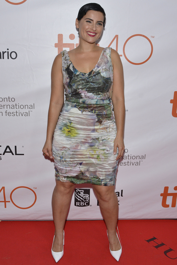Hyena Road premiere at the Roy Thomson Hall  during the 2015 Toronto International Film Festival.  Featuring: Nelly Furtado Where: Toronto, Canada When: 15 Sep 2015 Credit: Dominic Chan/WENN.com