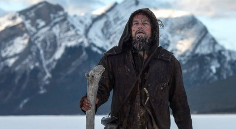 Leonardo DiCaprio në The Revenant
